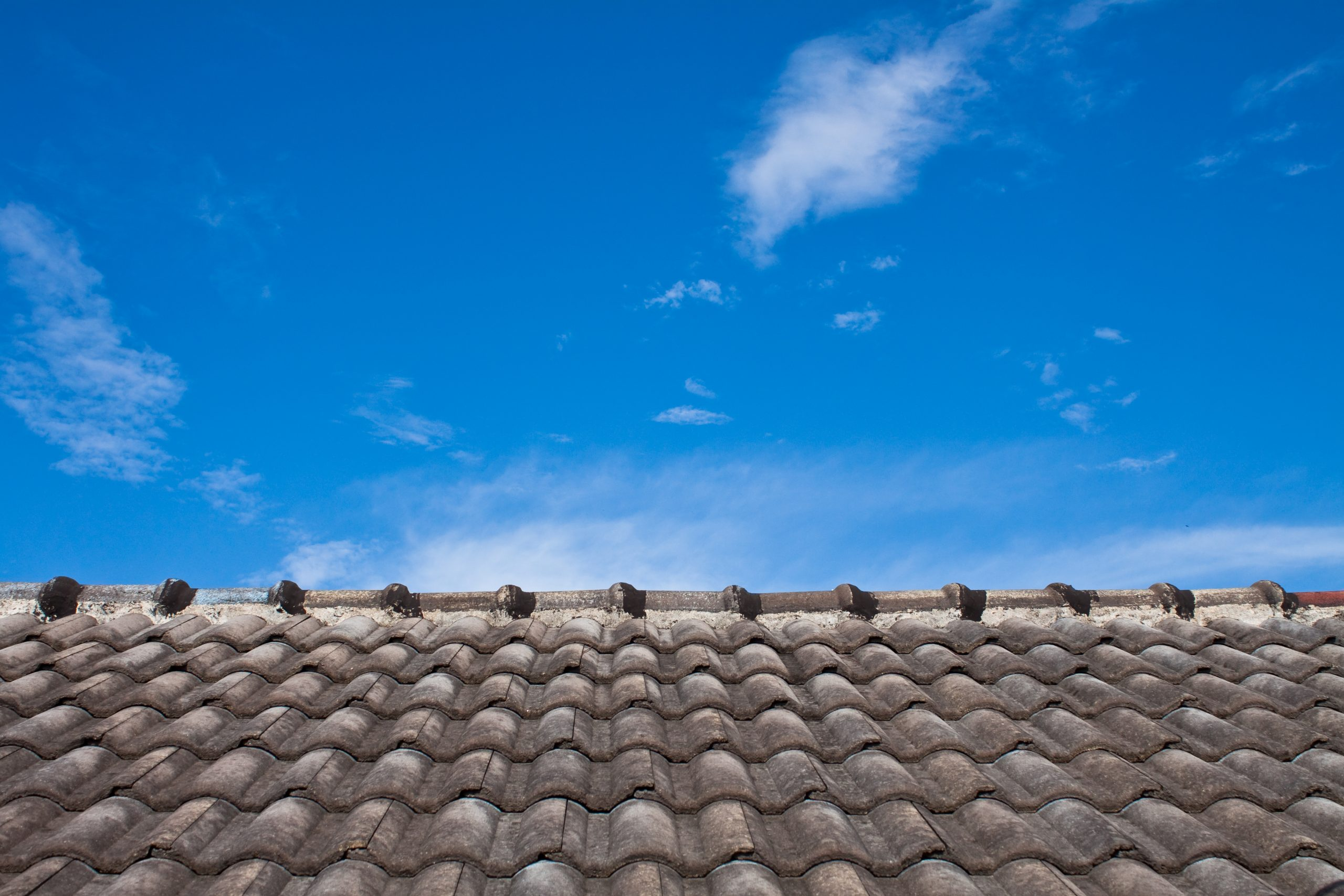 take from toproof,the roof is very old,not same the sky is very beautiful
